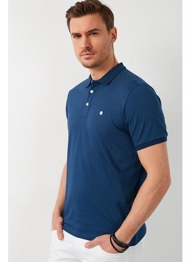 Buratti Buratti Polo Yaka Erkek T-Shirt 0438101 İndigo